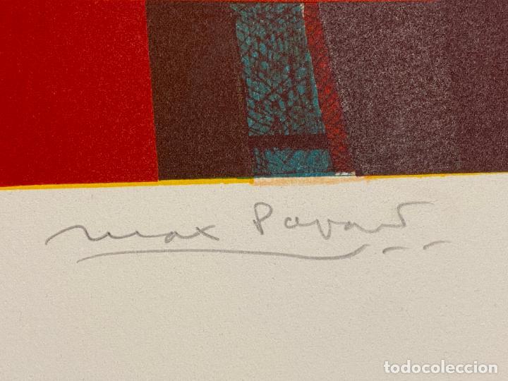 Arte: Max Papart , Sportif 2 , litografia firmada a lápiz , edición de 150 ejemplares , - Foto 5 - 240624170
