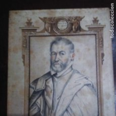 Arte: ORIGINAL GRABADO ANTIGUO SIN MARCO DEL S.19: EL RACIONERO PABLO CESPEDES. Lote 128386263