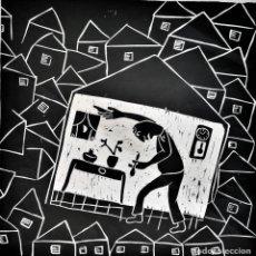 Art: FERRAN ROCA BON. XILOGRAFÍA . AÑO 1969. FIRMADA. Lote 240713120