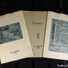 Arte: PACO SABADELL, CARPETA CON 10 GRABADOS DE 1962. Lote 241111975