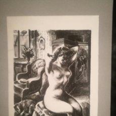 Arte: DESNUDO FEMENINO POR JOAQUIM MARTÍ BAS (1910-66). Lote 241423555