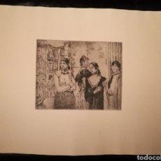 Arte: MUJERES DE LA VIDA POR JOSÉ GUTIÉRREZ SOLANA (1886-1945). Lote 241427595