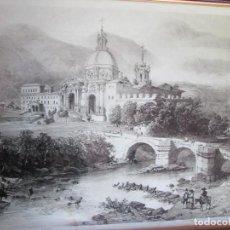 Arte: LITOGRAFÍA SAN IGNACIO DE LOYOLA EN GUIPÚZCOA. GENARO PÉREZ DE VILLA AMIL DIBUJO. CÉRI Y BAVOT.. Lote 241937555
