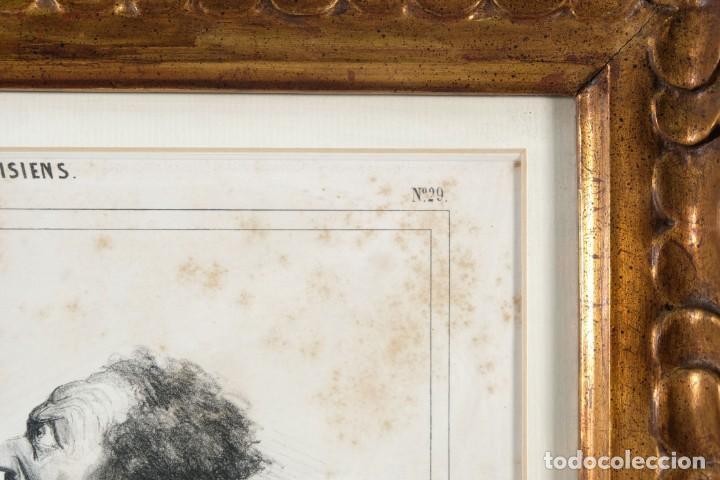 Arte: Grabado Chez Ambert gal Vero-Dodat Caricaturas personajes Imp. d'Aubert & Cie sigo 1839 - Foto 5 - 243865520