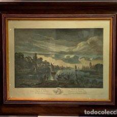 Arte: MARCO CON GRABADO SIGLO XIX.. Lote 244491115