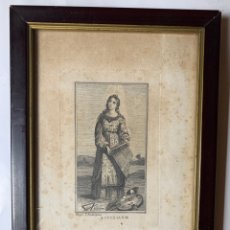 Arte: GRABADO. S. CECILIA V. M. PROPR. T. RODRÍGUEZ.. Lote 244585095
