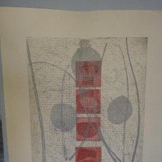 Arte: GRABADO DE CONSUELO VINCHIRA TAMAÑO CON CERTIFICADO. Lote 244618145