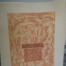 Arte: GRABADO DE CONSUELO VINCHIRA TAMAÑO CON CERTIFICADO. Lote 244618265