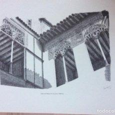 Arte: GRABADO CON FIRMA DEL AUTOR DAROCA. Lote 244710160