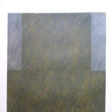 Arte: JORDI TEIXIDOR (VALENCIA, 1941) GRABADO 1992 DE 50X39 PAPEL 76X56CMS, FIRMADO Y XVII/XX JORDI TEIXI. Lote 244764640