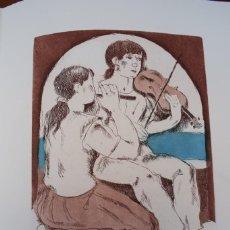 Arte: GRABADO/IMPRESIÓN DE J. CASTANY, NUMERADO. Lote 245121580