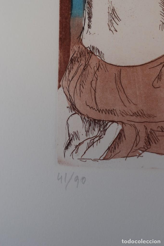 Arte: Grabado/impresión de J. Castany, numerado - Foto 2 - 245121580