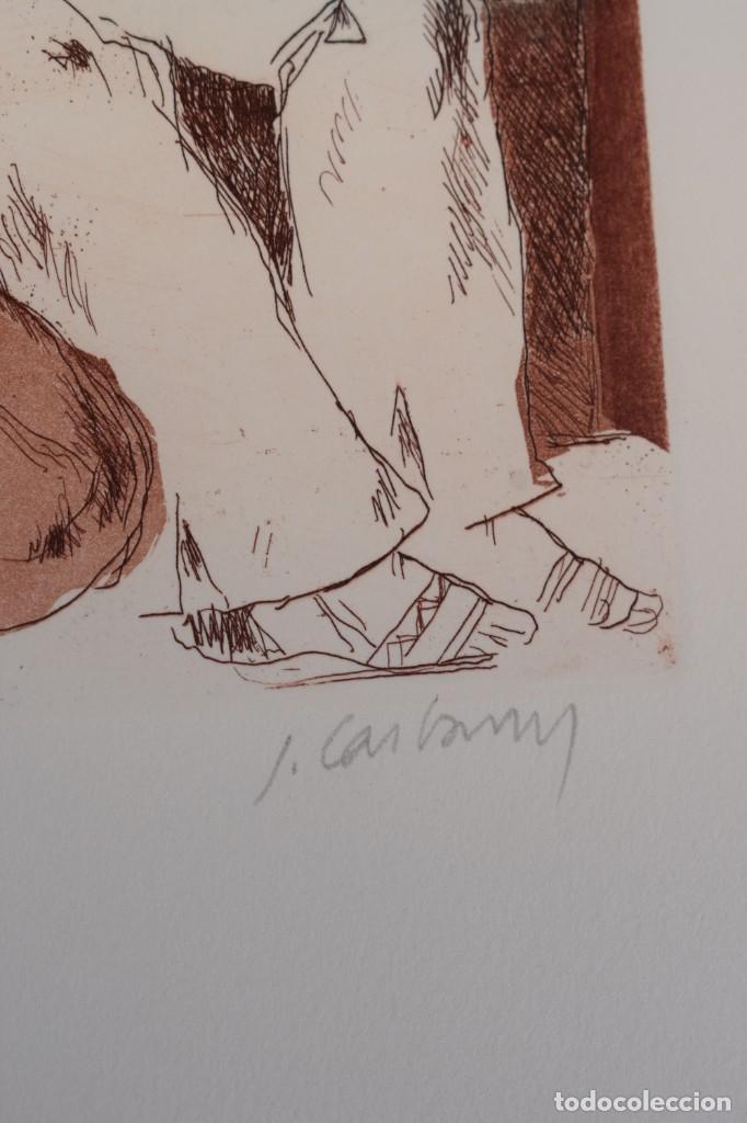 Arte: Grabado/impresión de J. Castany, numerado - Foto 3 - 245121580