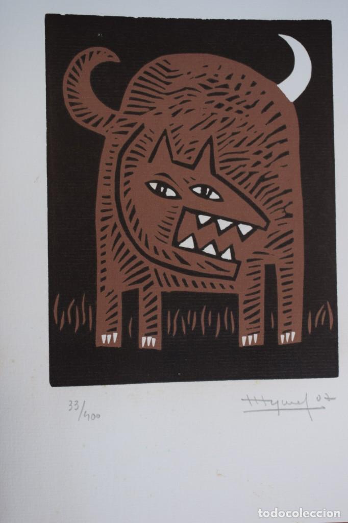 GRABADO/IMPRESIÓN DE JOSÉ LUIS PASCUAL. NUMERADO (Arte - Grabados - Contemporáneos siglo XX)