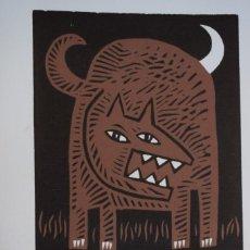 Arte: GRABADO/IMPRESIÓN DE JOSÉ LUIS PASCUAL. NUMERADO. Lote 245122050