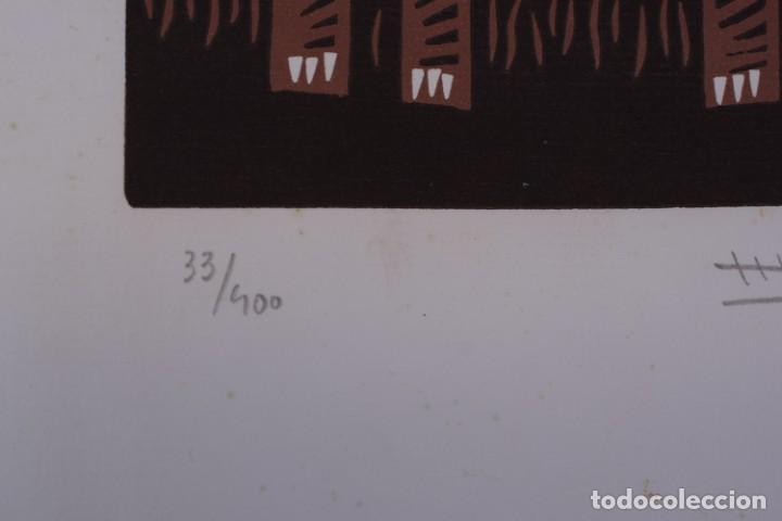 Arte: Grabado/impresión de José Luis Pascual. Numerado - Foto 3 - 245122050