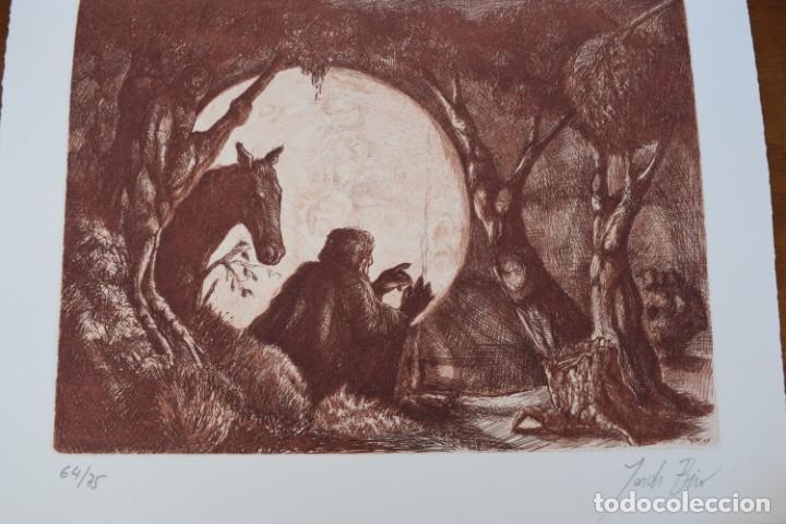 GRABADO/IMPRESIÓN DE JORDI BIRO, NUMERADO (Arte - Grabados - Contemporáneos siglo XX)