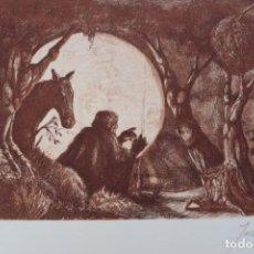 Arte: GRABADO/IMPRESIÓN DE JORDI BIRO, NUMERADO. Lote 245122240