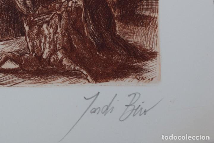 Arte: Grabado/impresión de Jordi Biro, numerado - Foto 2 - 245122240