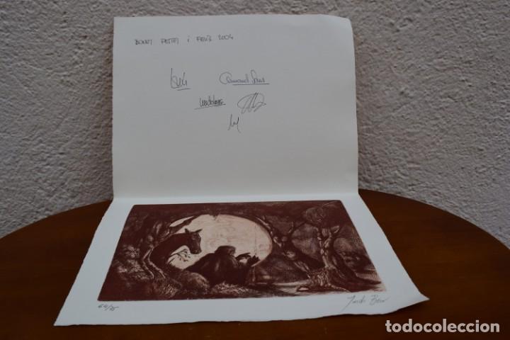 Arte: Grabado/impresión de Jordi Biro, numerado - Foto 4 - 245122240