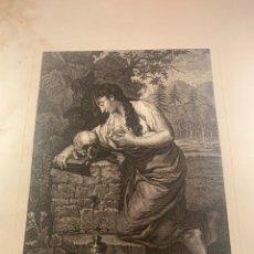 Arte: S. MARÍA MAGDALENA - JULIAN MAS LO GRAVO EN VALENCIA S.XVIII. Lote 245197845