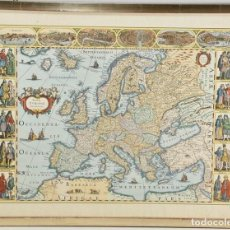 Arte: EUROPAE DESCRIPTIO - 1637. Lote 245315455