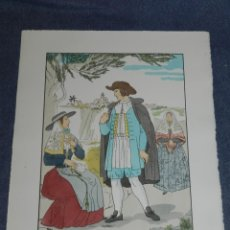 Arte: (MF) VESTIDOS TIPICOS - JOAN D'IVORI EDT ORBIS - MALLORCA S.XVIII, POCHOIR, 1935. Lote 245382015