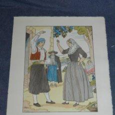 Arte: (MF) VESTIDOS TIPICOS - JOAN D'IVORI EDT ORBIS - MALLORCA S.XIX, POCHOIR, 1935. Lote 245382180