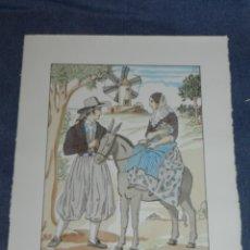 Arte: (MF) VESTIDOS TIPICOS - JOAN D'IVORI EDT ORBIS - MALLORCA S.XIX, POCHOIR, 1935. Lote 245382315