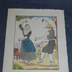 Arte: (MF) VESTIDOS TIPICOS - JOAN D'IVORI EDT ORBIS - MALLORCA S.XIX, POCHOIR, 1935. Lote 245382460