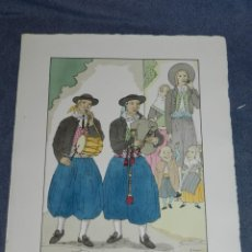 Arte: (MF) VESTIDOS TIPICOS - JOAN D'IVORI EDT ORBIS - MALLORCA S.XIX, POCHOIR, 1935. Lote 245382570