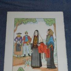 Arte: (MF) VESTIDOS TIPICOS - JOAN D'IVORI EDT ORBIS - EIVISSA IBIZA S.XVIII, POCHOIR, 1935. Lote 245382800