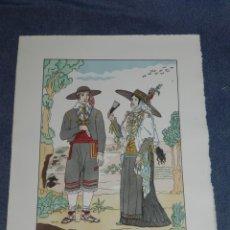Arte: (MF) VESTIDOS TIPICOS - JOAN D'IVORI EDT ORBIS - EIVISSA IBIZA S.XVIII, POCHOIR, 1935. Lote 245382985