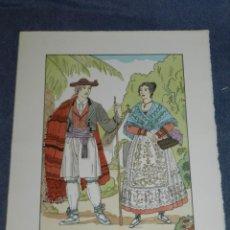 Arte: (MF) VESTIDOS TIPICOS - JOAN D'IVORI EDT ORBIS - ALICANTE S.XIX, POCHOIR, 1935. Lote 245384380