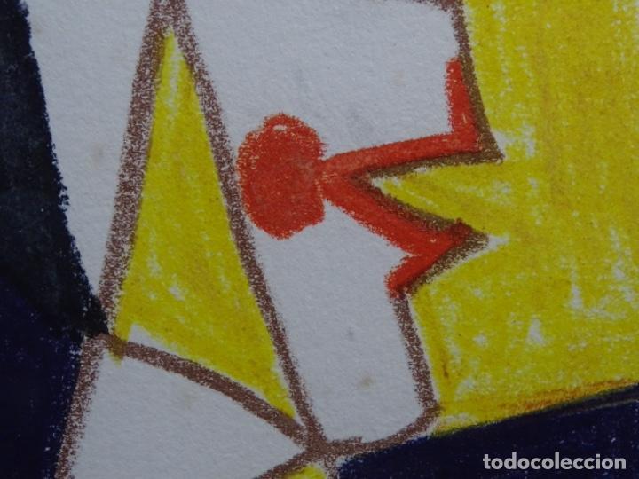 Arte: ANTIGUO GRABADO DE PICASSO. 13-1-62. - Foto 10 - 245497270