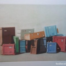 Arte: CRISTOBAL TORAL (CÁDIZ 40) GRAB 2012 TITULADO: EMBALAJES 35X47 PAPEL 51X61 Y 4/250 MÁLAGA ANTEQUERA. Lote 245733115