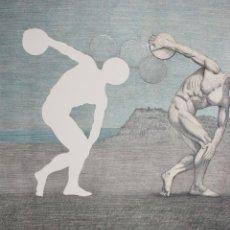Arte: JOSEP MARIA SUBIRACHS, JOVENTUT, GRABADO, TIRAJE 3 / 500, FIRMADO, CON CERTIFICADO. 62X45CM. Lote 245891795
