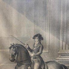 Arte: DOS GRABADOS IMPRENTA REAL ENTRE 1797 Y 1800. Lote 245935510