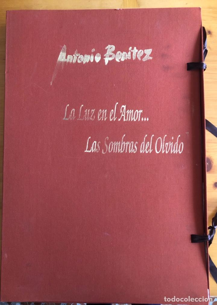 Arte: CHICLANA- CADIZ- ANTONIO BENITEZ- CARPETA GRABADOS - POEMAS- AÑO 1992 - Foto 2 - 245958390