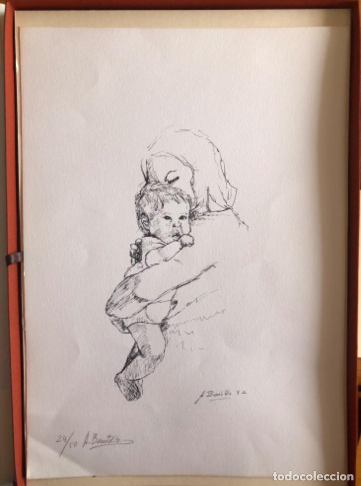 Arte: CHICLANA- CADIZ- ANTONIO BENITEZ- CARPETA GRABADOS - POEMAS- AÑO 1992 - Foto 18 - 245958390