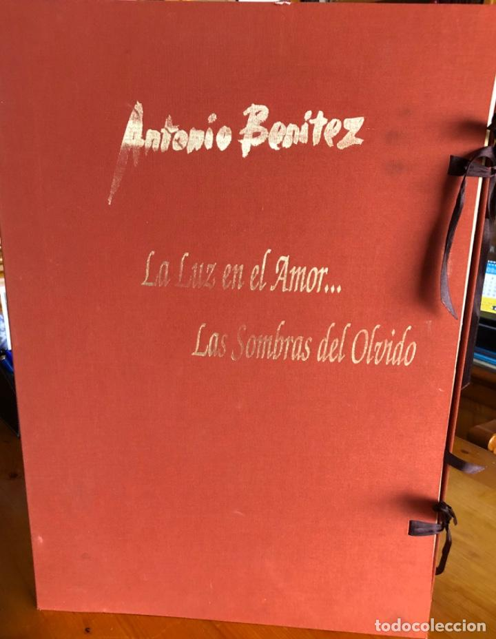 Arte: CHICLANA- CADIZ- ANTONIO BENITEZ- CARPETA GRABADOS - POEMAS- AÑO 1992 - Foto 19 - 245958390