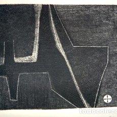 Arte: JOSÉ CUNÍ ALFONSO (MONTMELÓ, 1924). GRABADO FIRMADO Y SERIADO 10/10, 1957. Lote 245989945