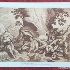 Arte: LÀMINA MATTHÄUS MERIAN. 1593-1650. REPRODUCCIÓN DE GRABADO. CONVERSIÓ DE SANT PAU. 27 X 22 CM.. Lote 246352085