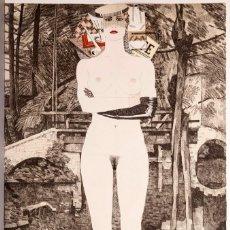 Arte: FERNANDO BELLVER - AGUAFUERTE Y COLLAGE - 77 EJ.. Lote 247128075