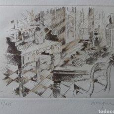Arte: GRABADO BODEGÓN ORIGINAL. Lote 247317185