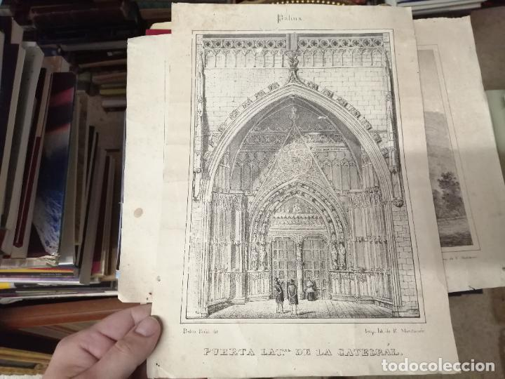 Arte: 3 GRABADOS ORIGINALES 1ª EDICIÓN 1840 PANORAMA ÓPTICO - HISTÓRICO - ARTÍSTICO BALEARES . FURIÓ - Foto 2 - 247331440
