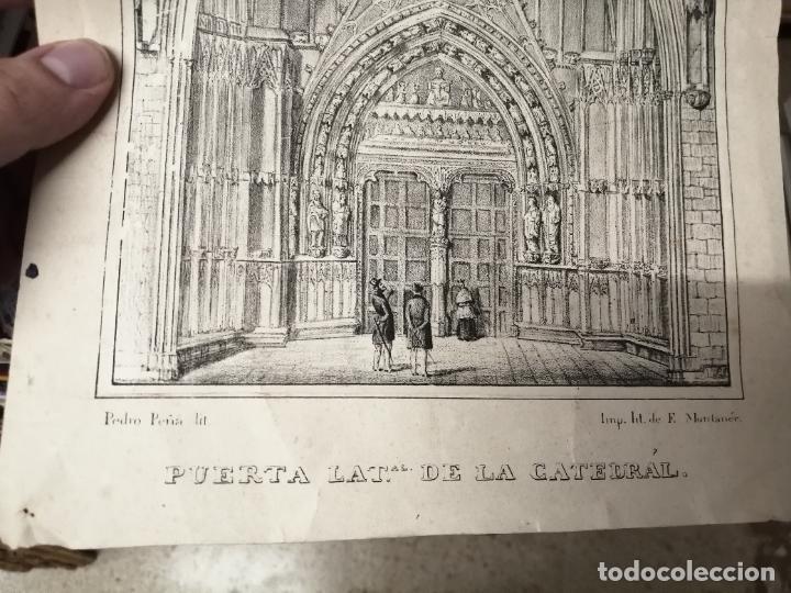 Arte: 3 GRABADOS ORIGINALES 1ª EDICIÓN 1840 PANORAMA ÓPTICO - HISTÓRICO - ARTÍSTICO BALEARES . FURIÓ - Foto 5 - 247331440