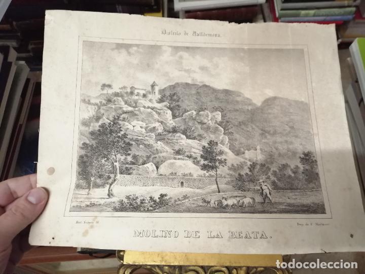 Arte: 3 GRABADOS ORIGINALES 1ª EDICIÓN 1840 PANORAMA ÓPTICO - HISTÓRICO - ARTÍSTICO BALEARES . FURIÓ - Foto 6 - 247331440