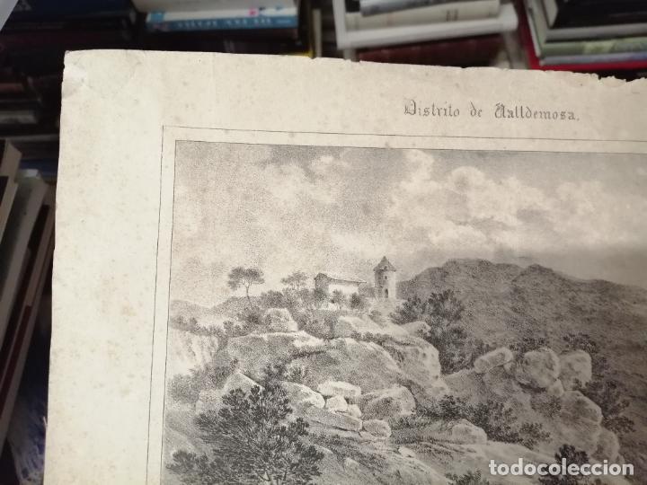 Arte: 3 GRABADOS ORIGINALES 1ª EDICIÓN 1840 PANORAMA ÓPTICO - HISTÓRICO - ARTÍSTICO BALEARES . FURIÓ - Foto 7 - 247331440