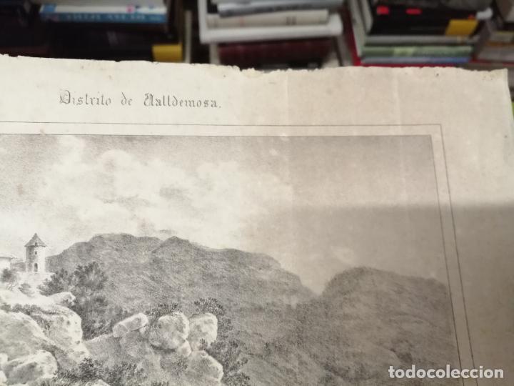 Arte: 3 GRABADOS ORIGINALES 1ª EDICIÓN 1840 PANORAMA ÓPTICO - HISTÓRICO - ARTÍSTICO BALEARES . FURIÓ - Foto 8 - 247331440